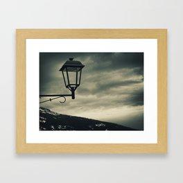 Troubled empty Framed Art Print