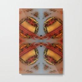 Florid Circles 2 Metal Print