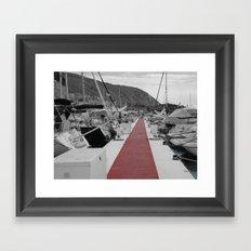 Spanish Harbour Framed Art Print
