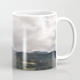 Cypress mountains and forests Coffee Mug