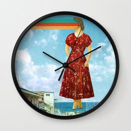 Beachfront Wall Clock