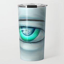 hiding emotion Travel Mug