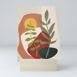 Two Abstract Branches Mini Art Print