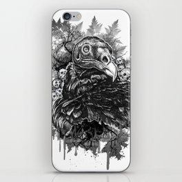 Vulture and Pine iPhone Skin