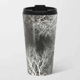 white veins, black flesh Travel Mug