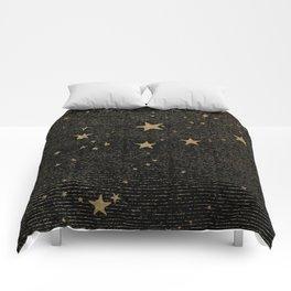 Vintage Black Magic Comforters