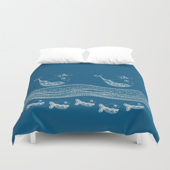 Swimtangle Duvet Cover