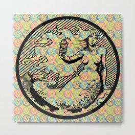 Pop Art Melusina  Metal Print