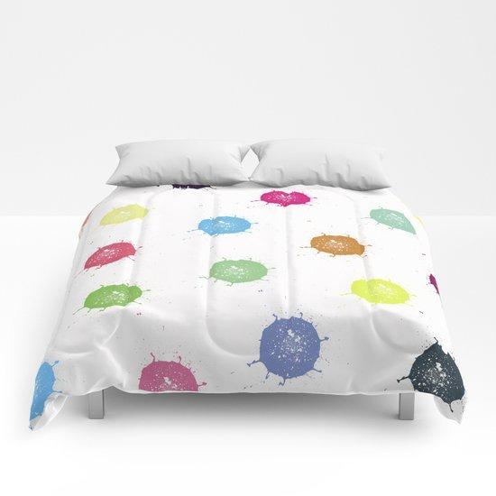 Color Splash Comforters