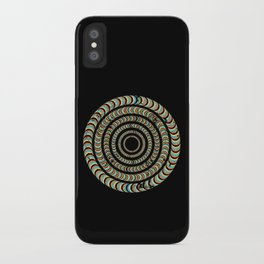 Slow Spin iPhone Case