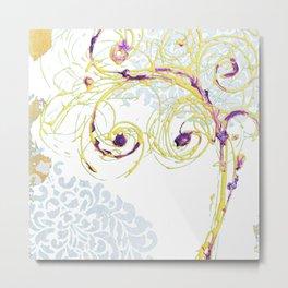Spring tree Metal Print