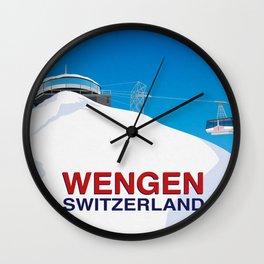 Wengen Wall Clock