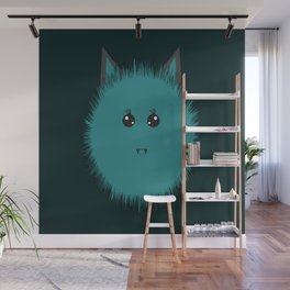 Cute monster of Halloween Wall Mural