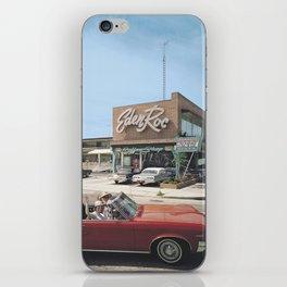 Eden Roc Motel, 1960's Pontiac, Wildwood, NJ, Retro Motel iPhone Skin