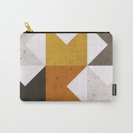 Mid Century Geometric 21 Carry-All Pouch