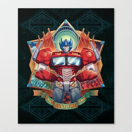 The Exalted One Canvas Print