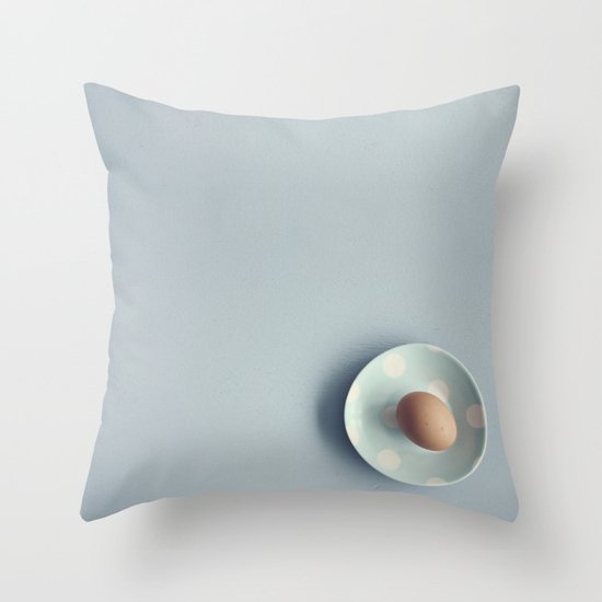 The Egg Throw Pillow