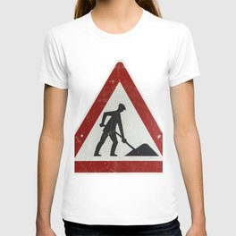 Men at Work Vintage Sign Germany T-shirt