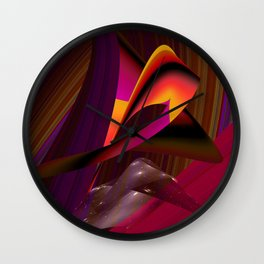 Over the Rainbow by Kenny Rego Wall Clock