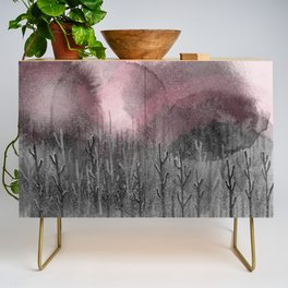 Pinky Winter Night Credenza