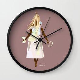 ORIXAS_ tempo Wall Clock