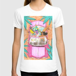 Besties beach trip T-shirt