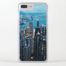 Victoria Peak, Hong Kong Clear iPhone Case