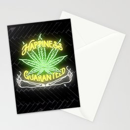 Happiness Guaranteed Stationery Cards