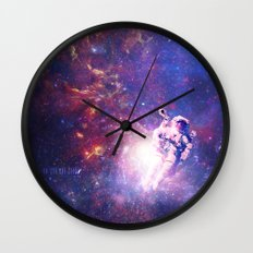 In The Center Of The Milky Way Wall Clock