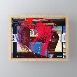 67. Heartful Framed Mini Art Print