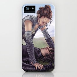 Reylo - Fight iPhone Case