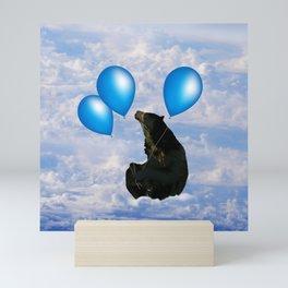 Bear fun and dreams Mini Art Print