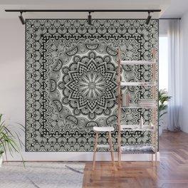 Orient Espresso Pattern Mandala Wall Mural