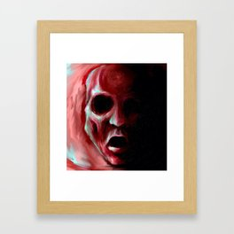 """Maw"" Framed Art Print"