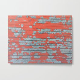 Dystopia: Chipped Paint Metal Print