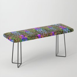 Octopus Psychedelic Luminescence Bench