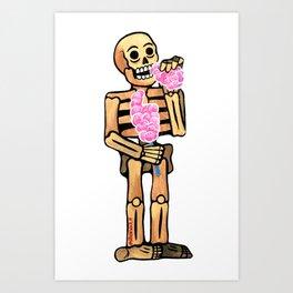 Algodon de azucar Art Print