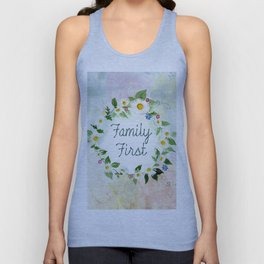 Family First Unisex Tank Top