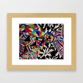 universal chaos Framed Art Print