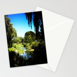 Monet's Garden in Chicago Stationery Cards