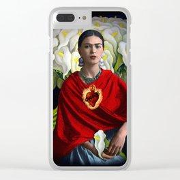 CORAZON SAGRADO Clear iPhone Case