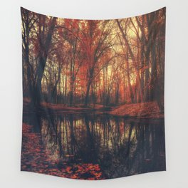 Where are you? Autumn Fall - Autumnal forest Wall Tapestry