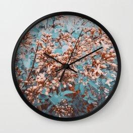 lilacs on mars Wall Clock