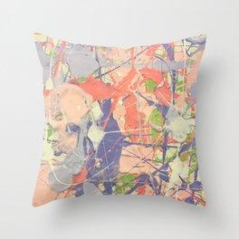 Miniature Original - lilac Throw Pillow