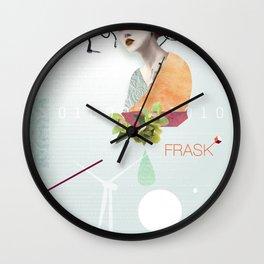 FRASK techno Wall Clock