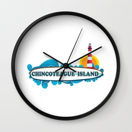 Cherry Grove Beach - South Carolina. Wall Clock