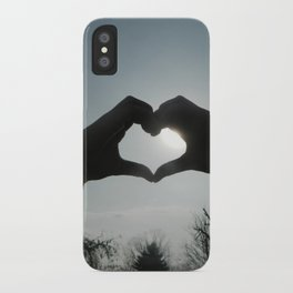 Hand Silhouette iPhone Case