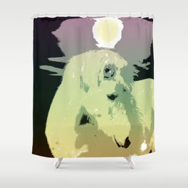 Popart horse Shower Curtain