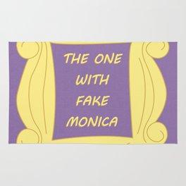 the One With Fake Monica - Season 1 Episode 21 - Friends - Sitcom TV Show Rug