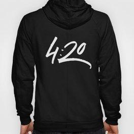 HIGH - 4:20 - White Hoody